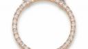 41 5873 451 | Collier/ Großer Ring 20mm / 0,36ct | Lieferbar in den Legierungen 14kt und 18kt in Gelb / Weiß / Rotgold. Farbkombinationen (z.B. Kette Weiß / Ring Rot o. ä. möglich!)