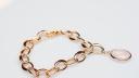 Armband Rose Gold 585   750 mit Rosaquarz