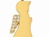 Engel (Profil) 585er gold mit Brillanten