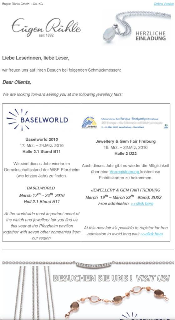 Eugen-Rühle-Newsletter-Baselworld-JEWELLERY-&-GEM-FAIR-FREIBURG-2016