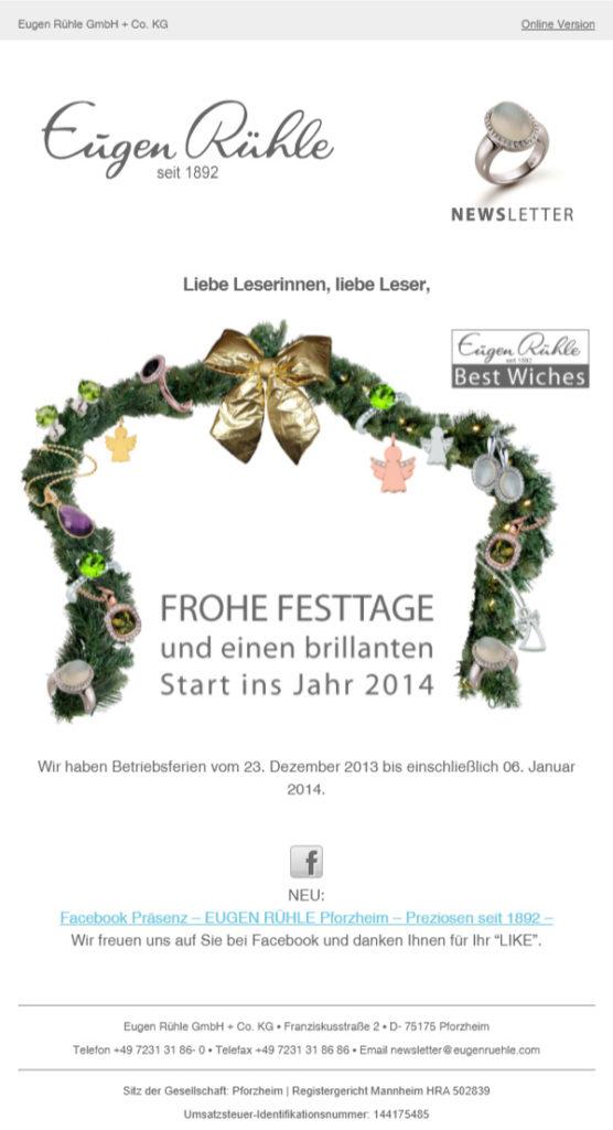 Eugen-Rühle-Newsletter-Beste-Wünsche