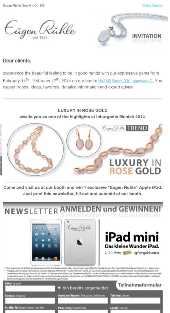 Eugen-Rühle-Newsletter-invitation-munich