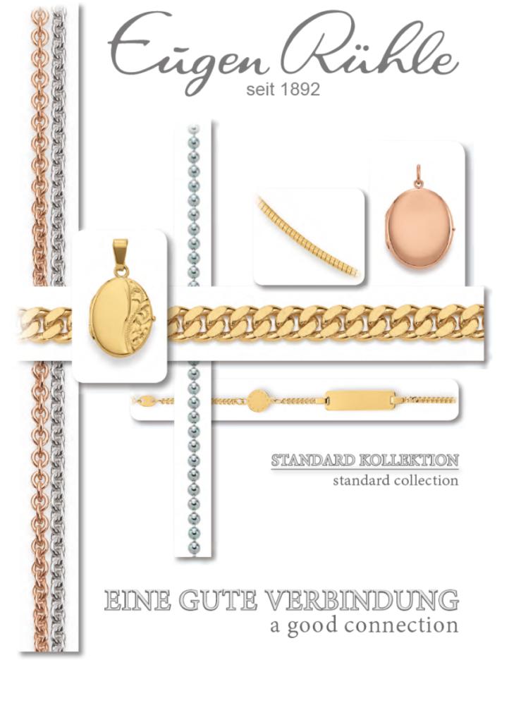 Titelseite Katalog Eugen Rühle Standard Kollektion
